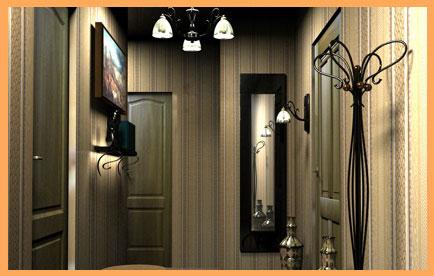 Ремонт трехкомнатной квартиры под ключ - Ремонт квартир в